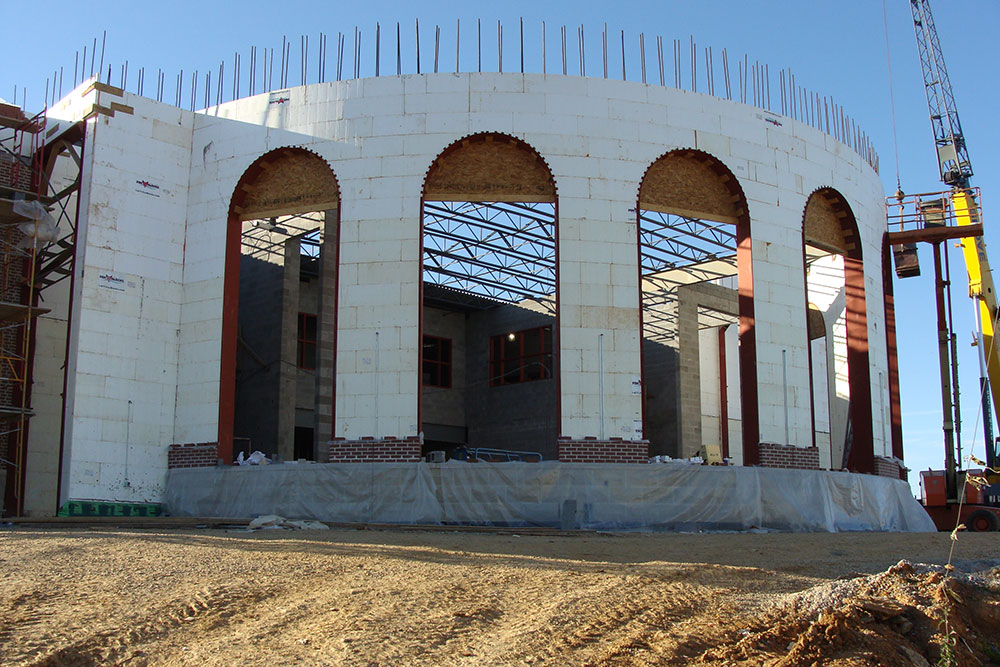 Building-ICF-Round-Openings