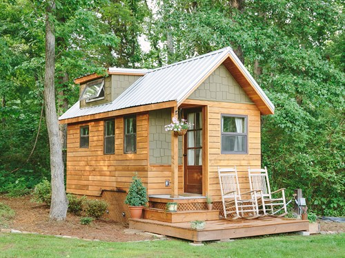 Tiny ICF Home 1