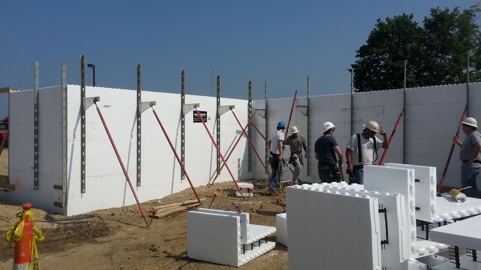 Commercial Construction Labor Costs with ICF 3