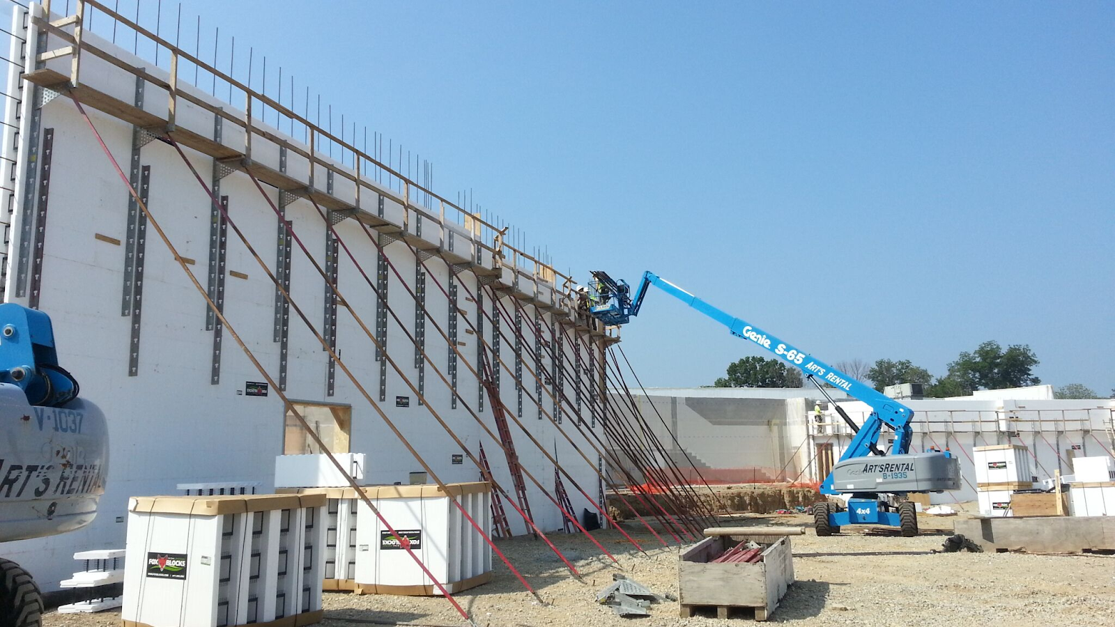 Commercial Construction Labor Costs with ICF 4